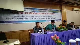 Workshop Peningkatan Pelayanan Pendidikan