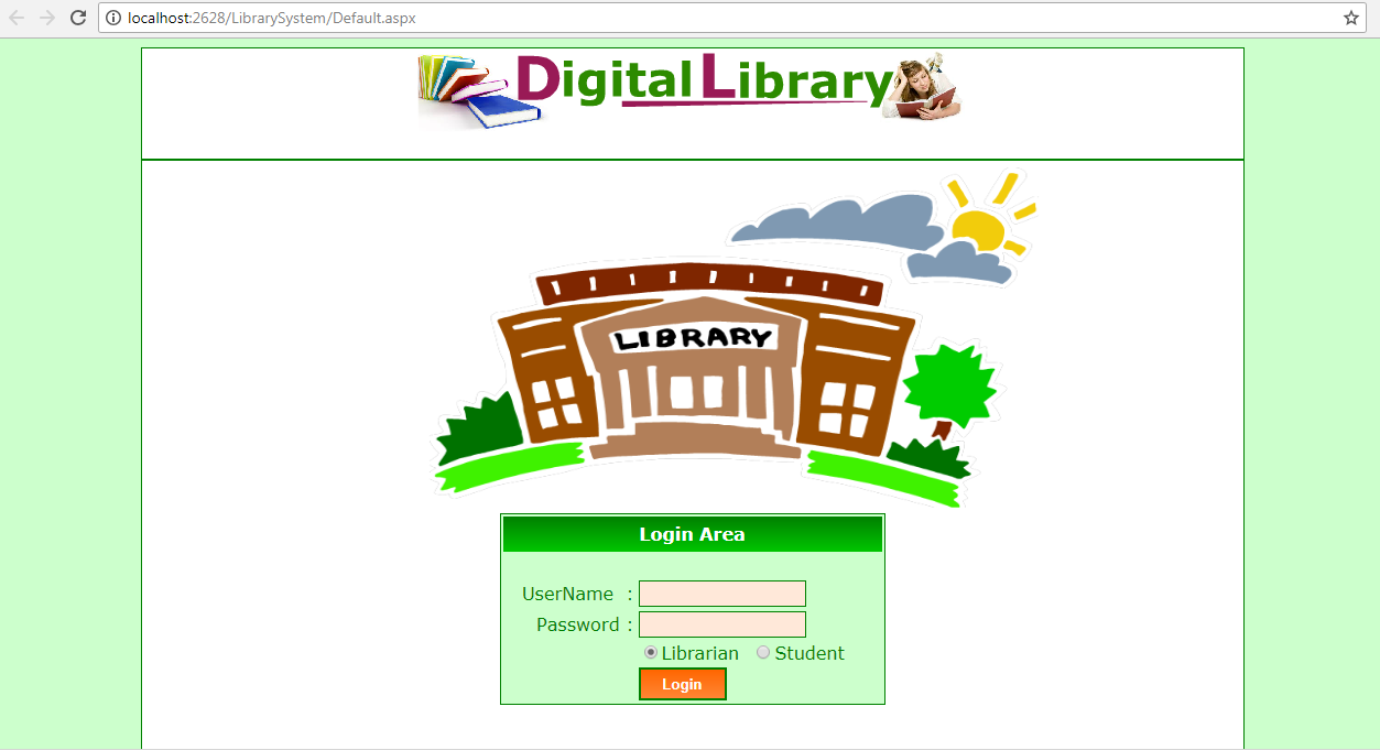 Library Management System Project In Asp Net C Source Code