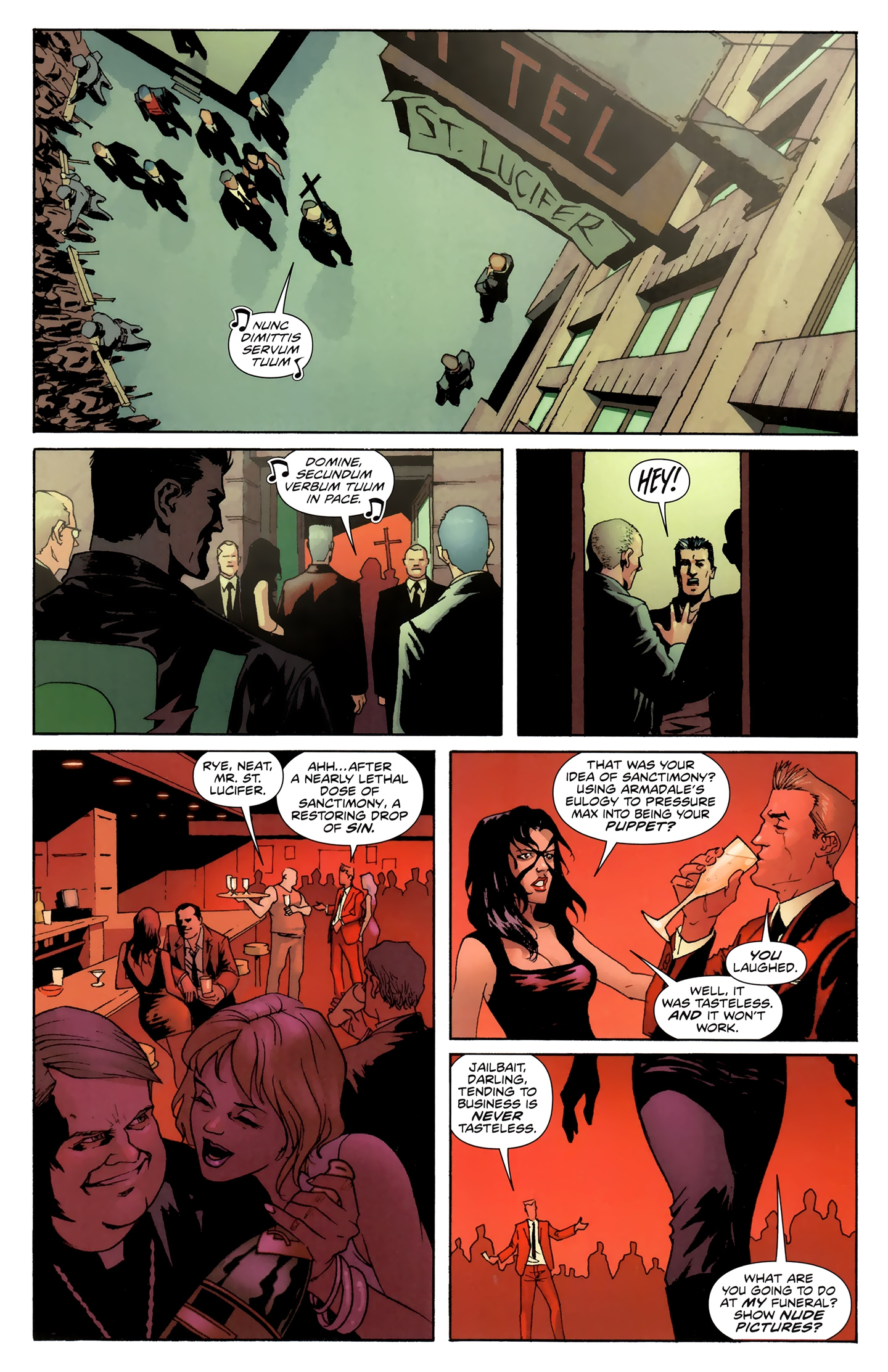 Read online Incorruptible comic -  Issue #28 - 8