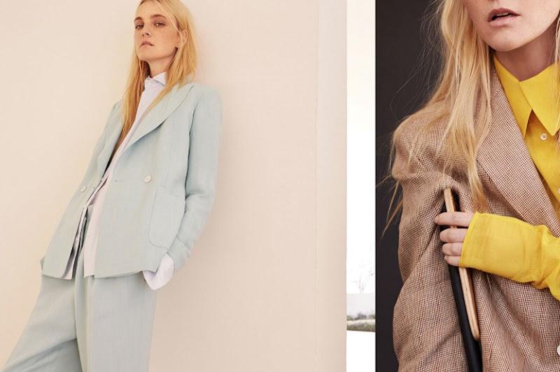 Los trajes de colores más favorecedores son los de Massimo Dutti