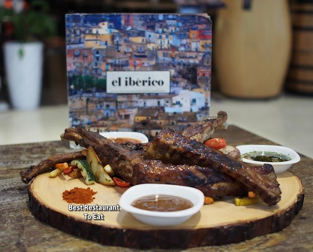 El Iberico Pork Ribs