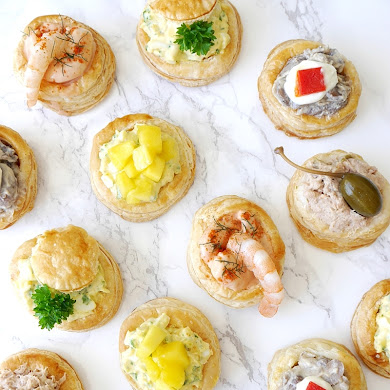 Retro Vol-au-Vent Party Recipe Appetizers