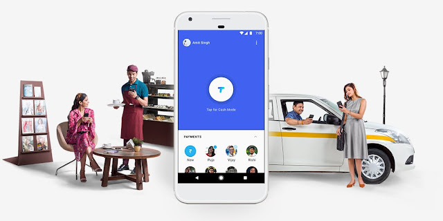 "Google launches ""Tez"" Payment Application in India"