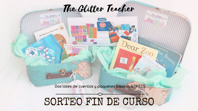 Sorteo fin de curso en The Glitter Teacher