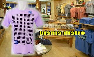 peluang bisnis pakaian distro