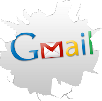 Gmail icon cracked