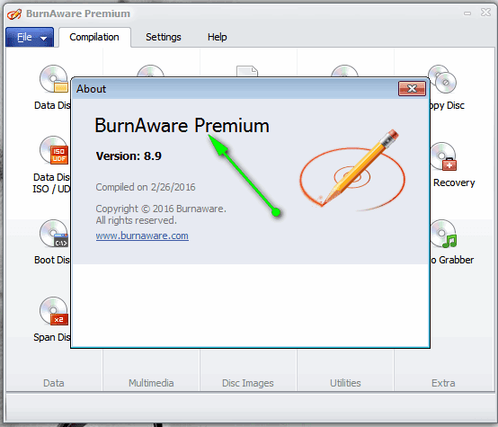 تحميل البرنامج BurnAware Premium اخر اصدار