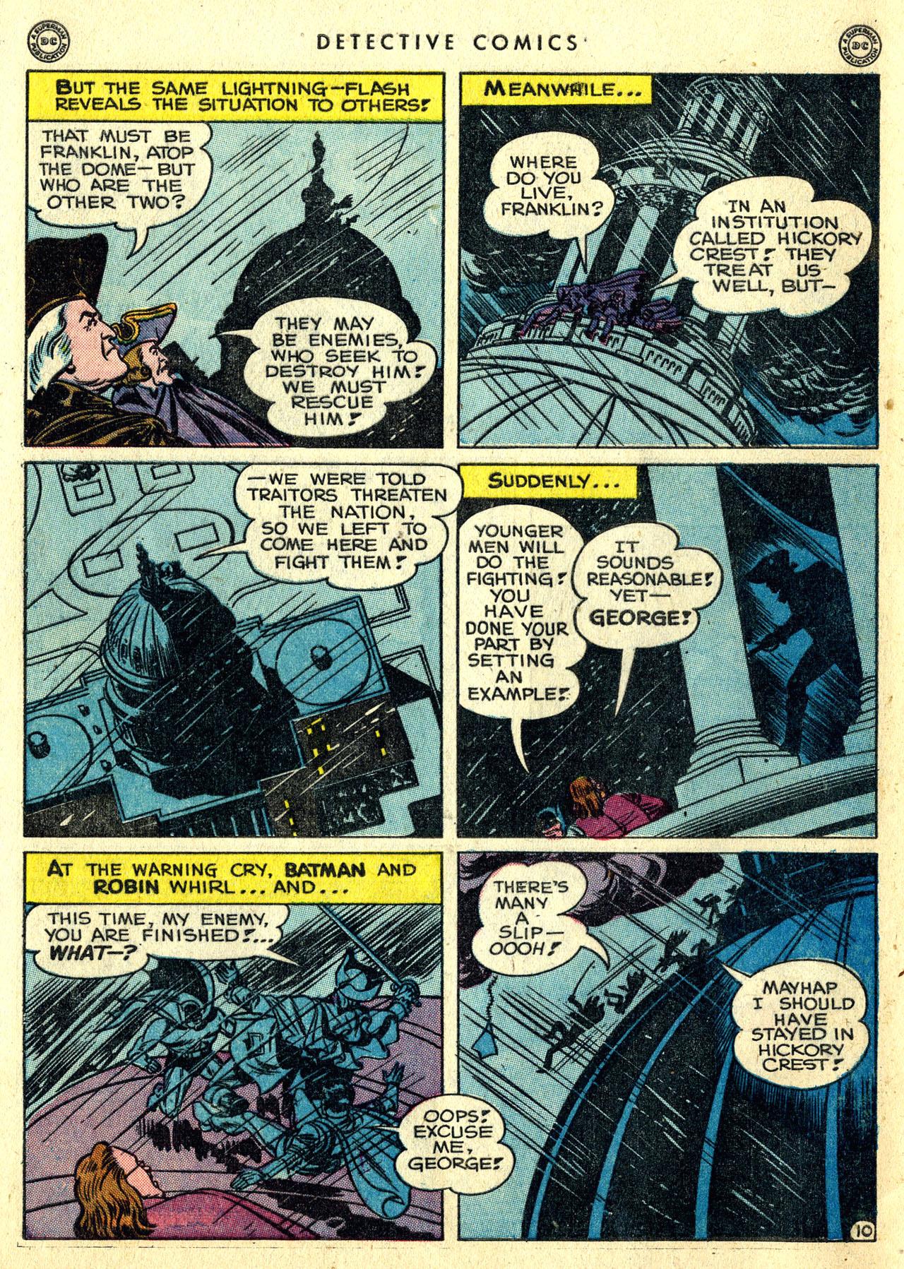 Read online Detective Comics (1937) comic -  Issue #119 - 12