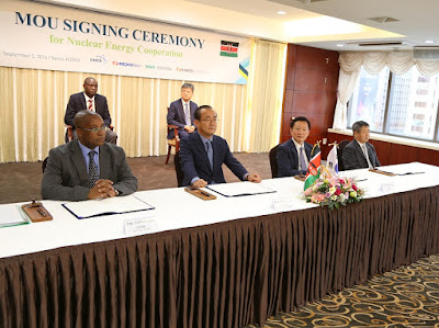 Kenya Signs Nuclear Power Partnership Deal With South Korea
