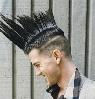 long mohawk hair