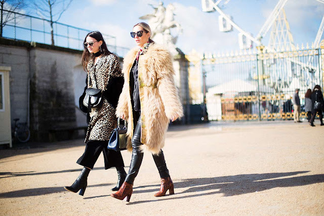 Paris Fashion Week street style coat