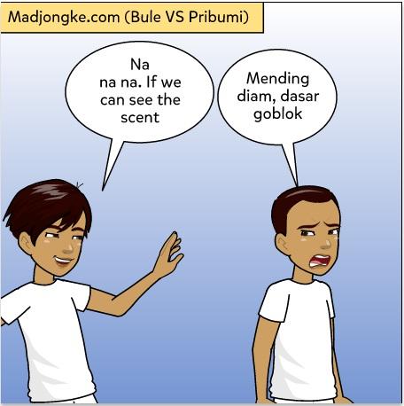 perbedaan perlakuan bule vs pribumi