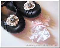 http://strawberrybutterscotch.blogspot.com/2016/05/lace-rosette-shoe-clips-with-twist-and.html