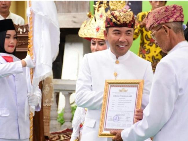 Raden Adipati Surya Dianugerahi Gelar  Pangeran Buay Pemuka Bangsa Raja