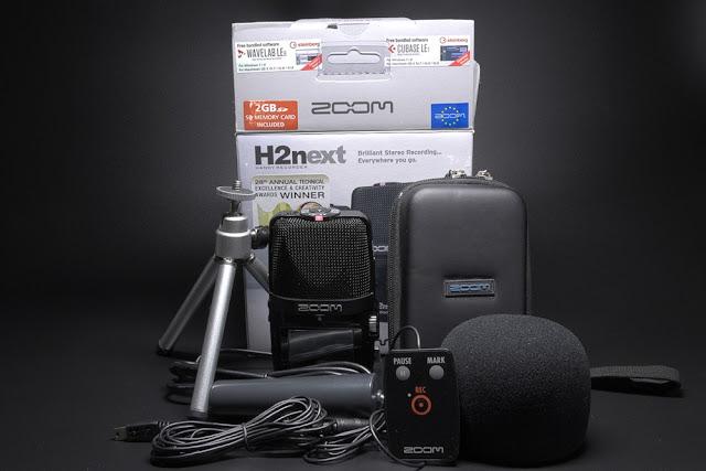 Zoom H2n z pakietem akcesoriów