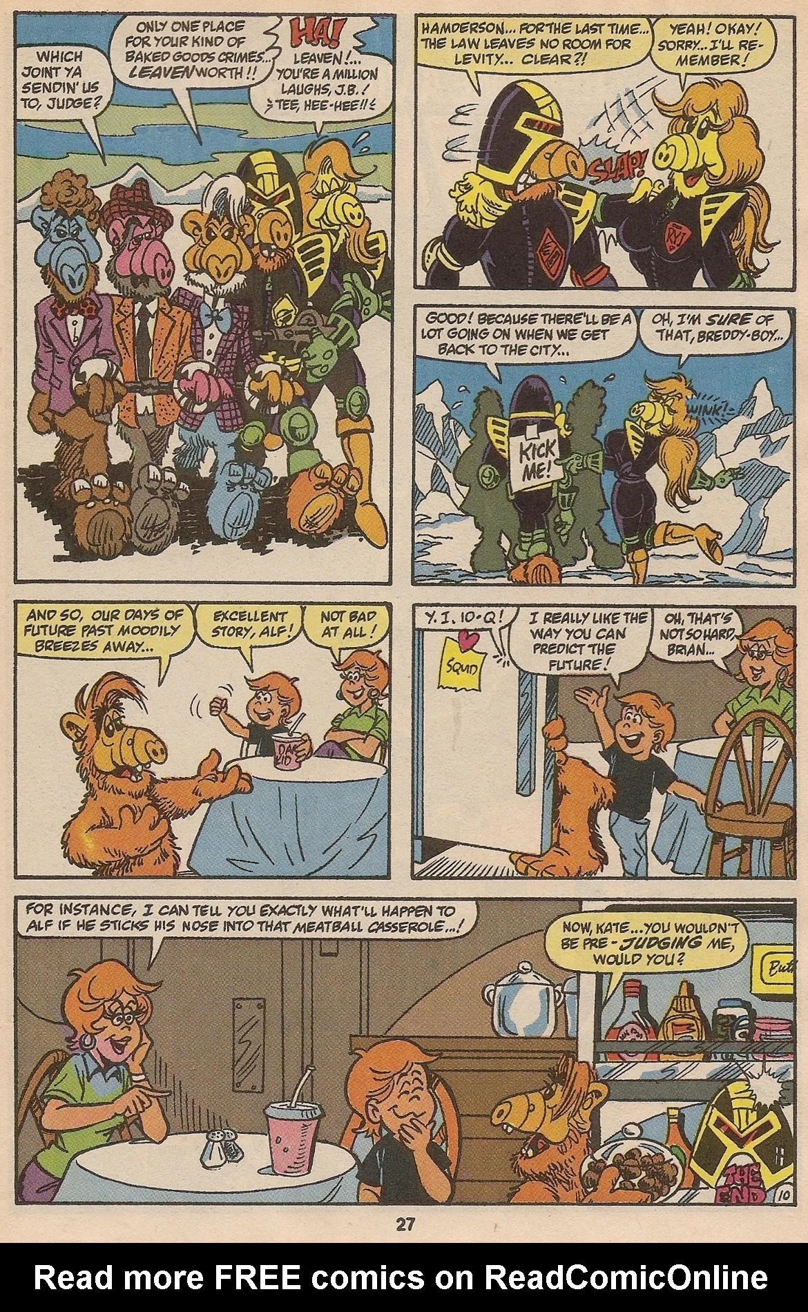 Read online ALF comic -  Issue #35 - 28