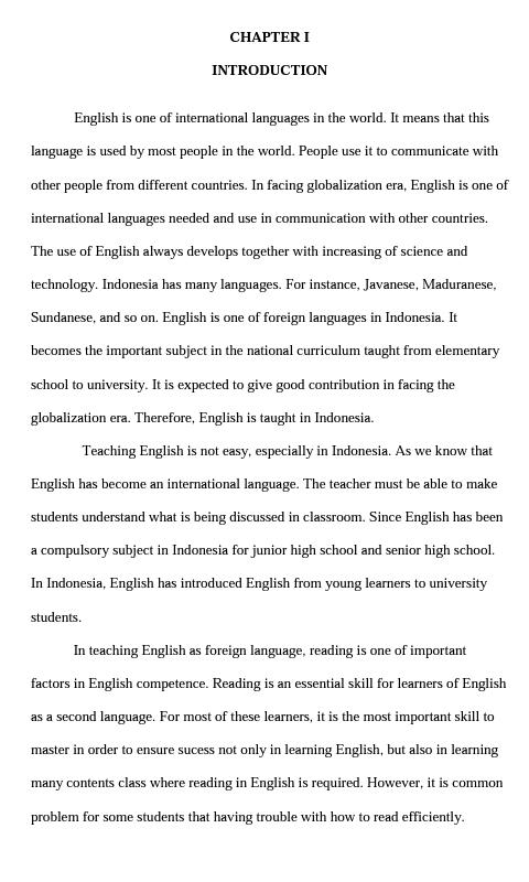 Grace S Home Contoh Jurnal Skripsi Pendidikan Bahasa Inggris