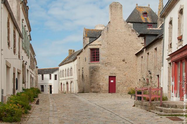 Pont-Croix viaje a Francia Bretaña pueblos bonitos