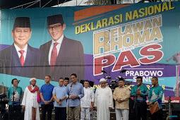 Didukung Ribuan Relawan Raja Dangdut, Sandi :  Kalau Tidak Ada perubahan Sungguh Terlalu