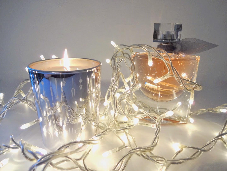 idee regalo natale per lei, idee regalo natale profumeria, natale 2014 regali, profumerie sabbioni, lancome la vie est belle profumo, candela profumata