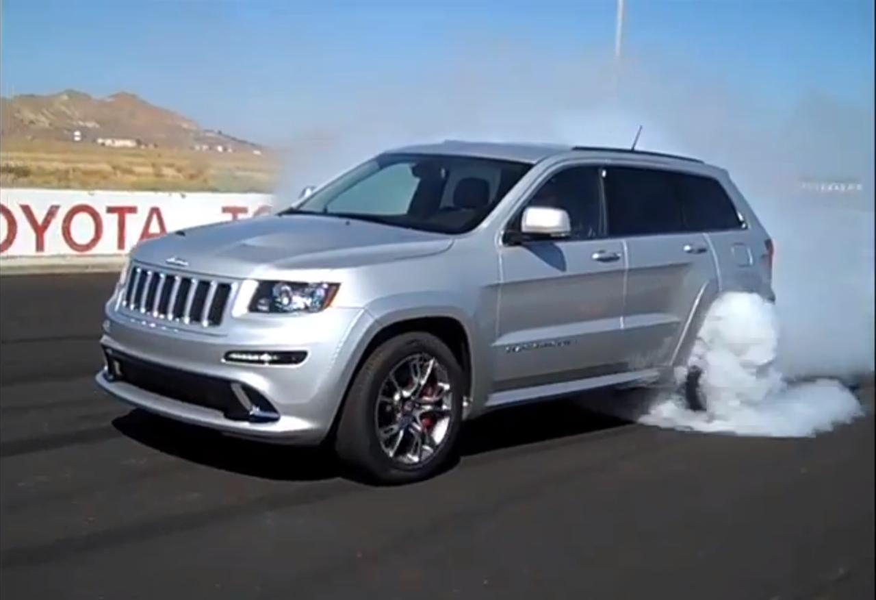 99 Wallpapers Burnout Video 2012 Jeep Grand Cherokee Srt8