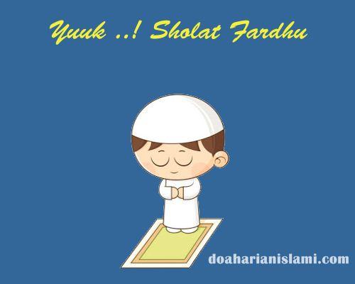 Bacaan Niat Sholat Fardhu Wajib 5 Waktu Lengkap Dengan