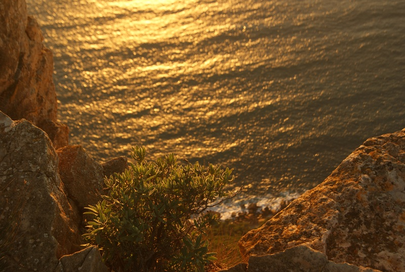 coucher de soleil vu du cap canaille la route des cretes