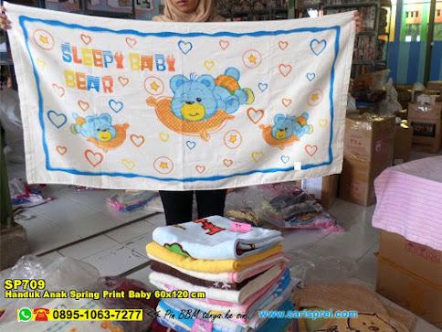 Handuk Anak Spring Print Baby 60x120 Cm