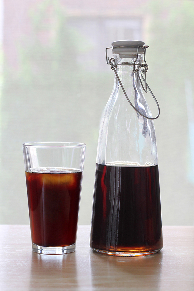 French-Pressed Cold-Brewed Coffee