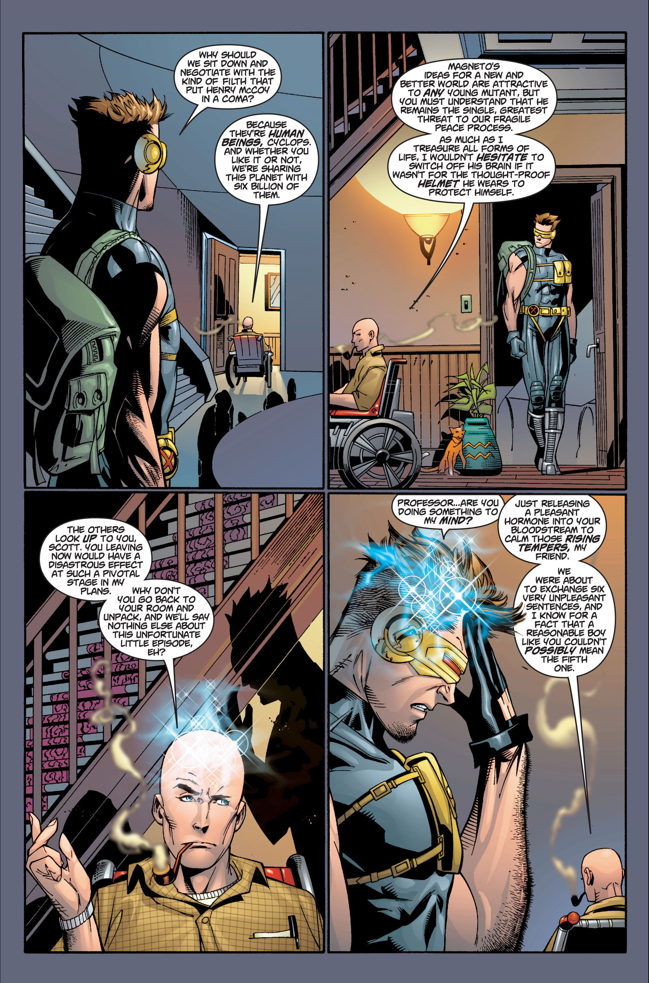 Read online Ultimate X-Men comic -  Issue #4 - 17