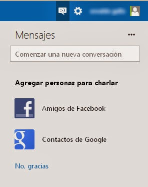 Vincular Outlook.com y Gmail