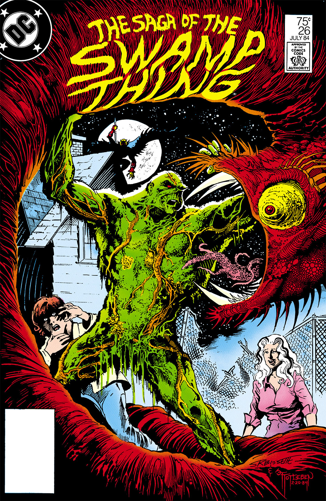 Swamp Thing (1982) Issue #26 #34 - English 1