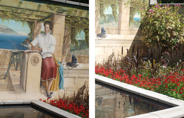 Have med Vægmalerier med Dronning Victoria