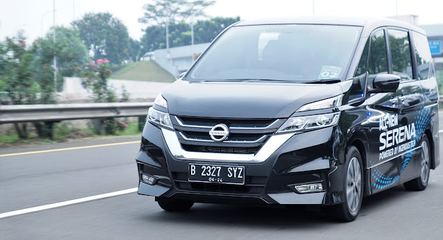 test drive all new nissan serena