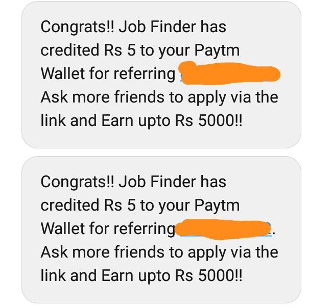 (Loot) Get Rs.5 Free Paytm Cash