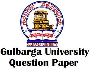 Gulbarga University Model Question Papers