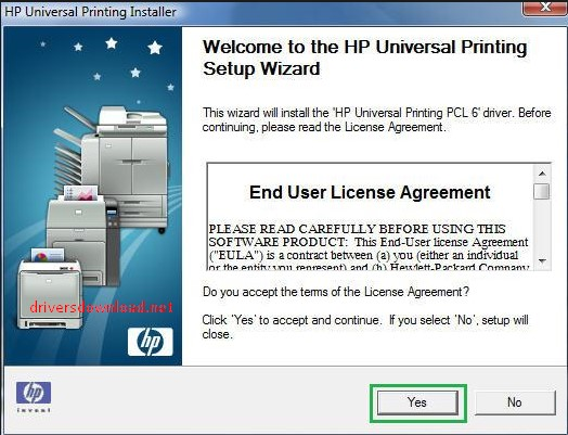hP universal print driver for windows pcl5 (64-bit)