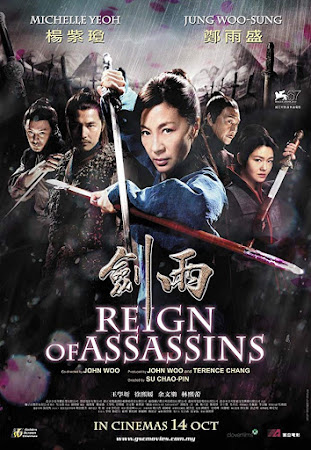 Poster Of Reign of Assassins In Dual Audio Hindi Chinese 300MB Compressed Small Size Pc Movie Free Download Only At worldfree4u.com