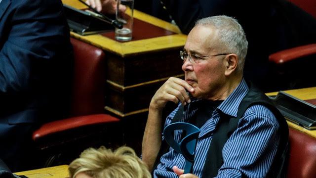 """Ζουράρις: """"Δεν θα ψηφίσω τη Συμφωνία των Πρεσπών και ελπίζω να μην υπερψηφιστεί"""""""