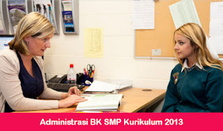 Administrasi BK SMP Kurikulum 2013