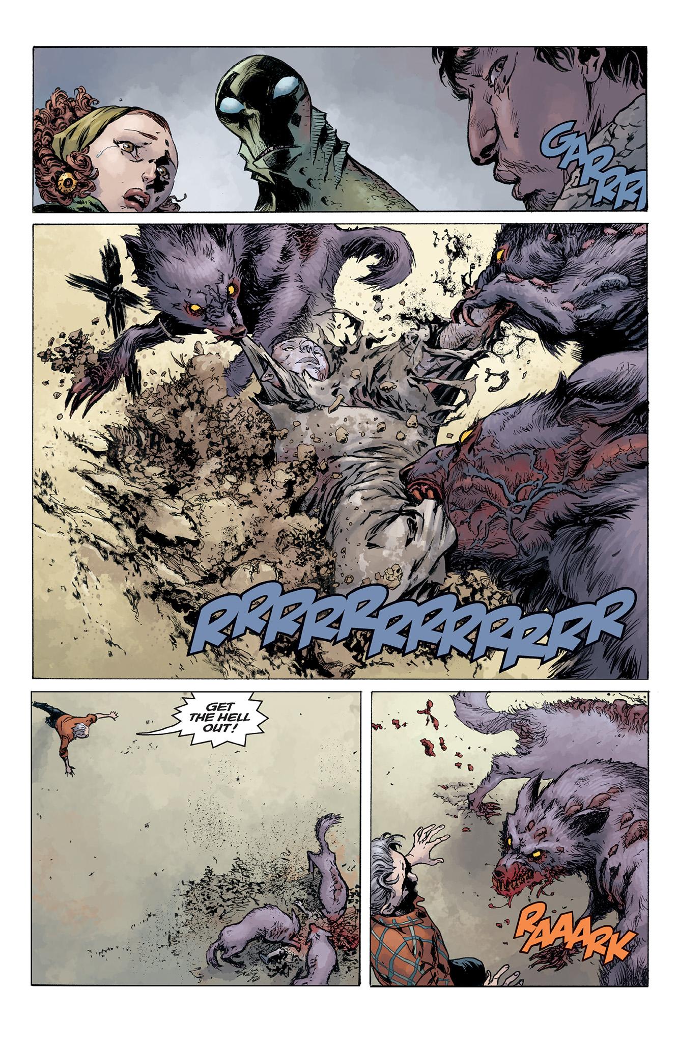 Read online Abe Sapien comic -  Issue #5 - 18