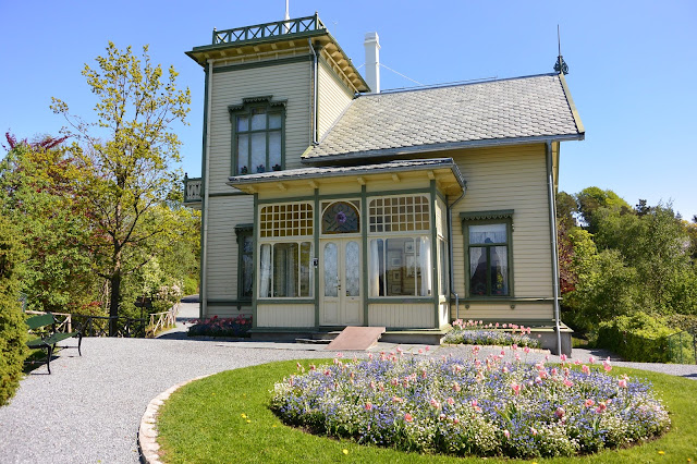 Norvège Bergen :  Maison de Edvard Grieg :  Troldhaugen