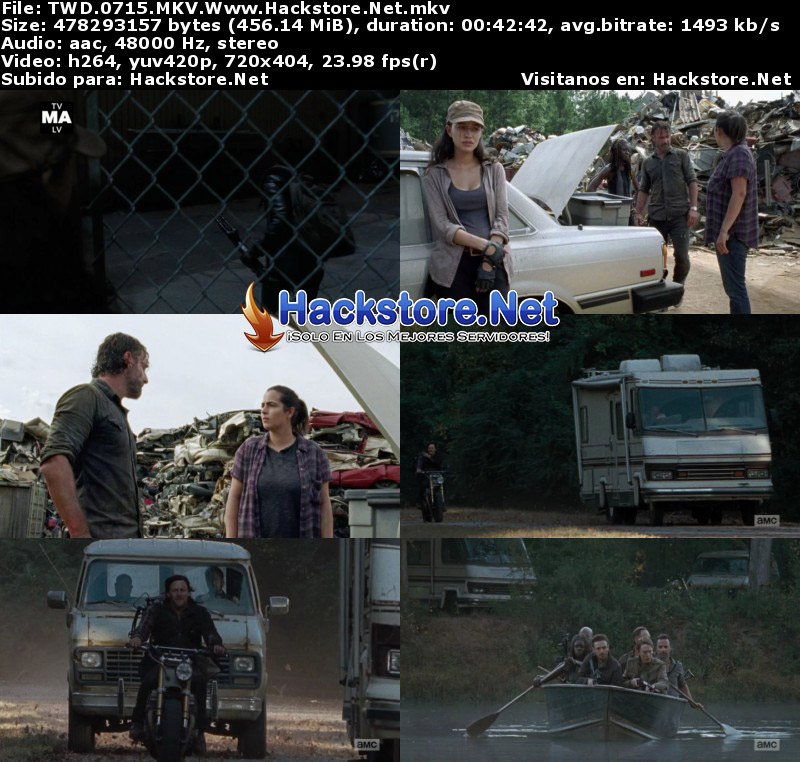 Capturas de The Walking Dead 7×15 «Something They Need»