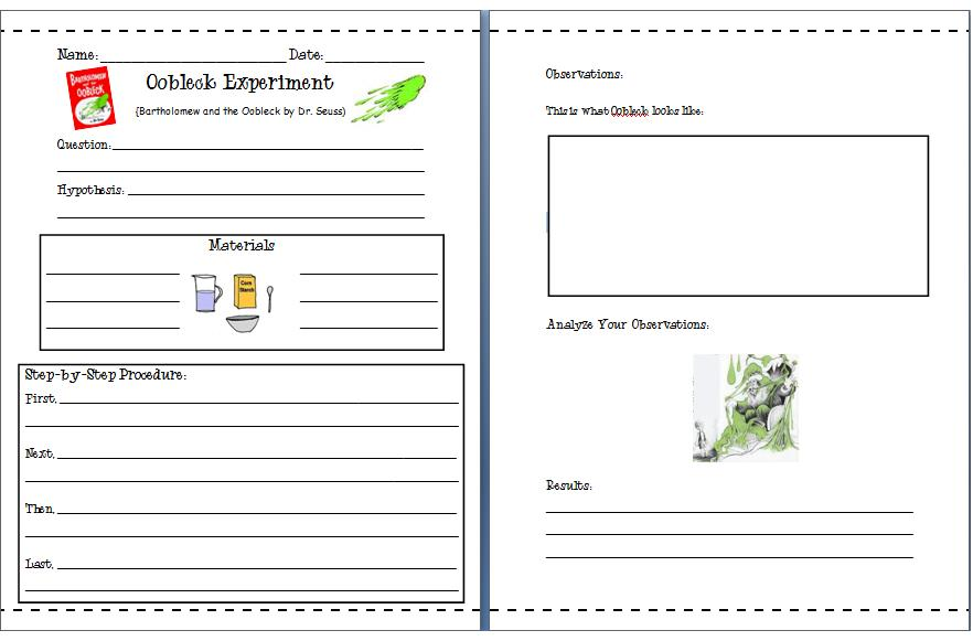 how to write a science experiment lesson for year 5