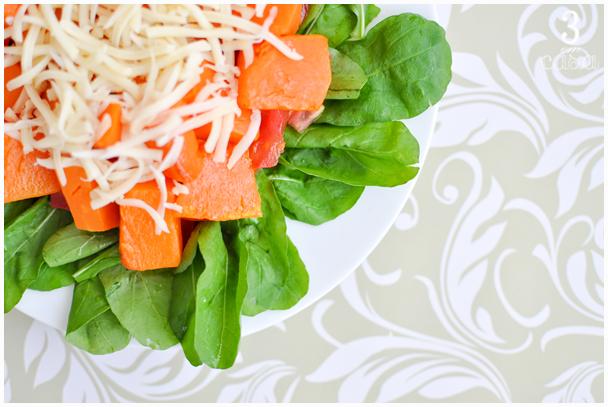 salada abóbora receita