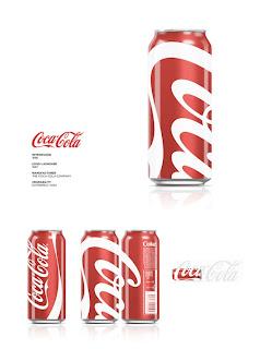 Diseño de lata de refresco