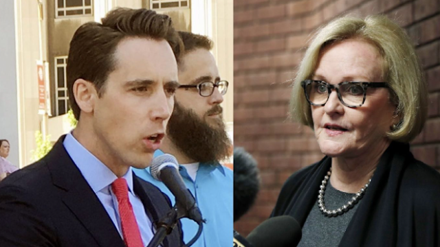 Missouri Senator Claire McCaskill in a dead heat with little known GOP challenger