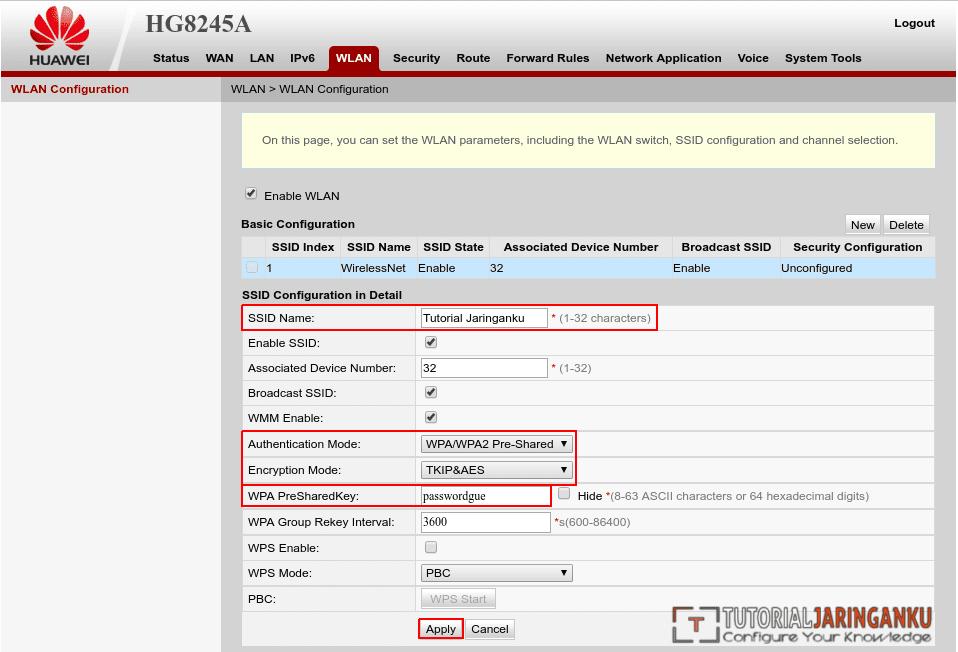 Tutorial Cara Setting Modem ONT Huawei HG8245A - Tutorial
