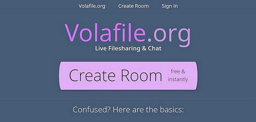 Volafile.org 線上即時聊天和檔案分享