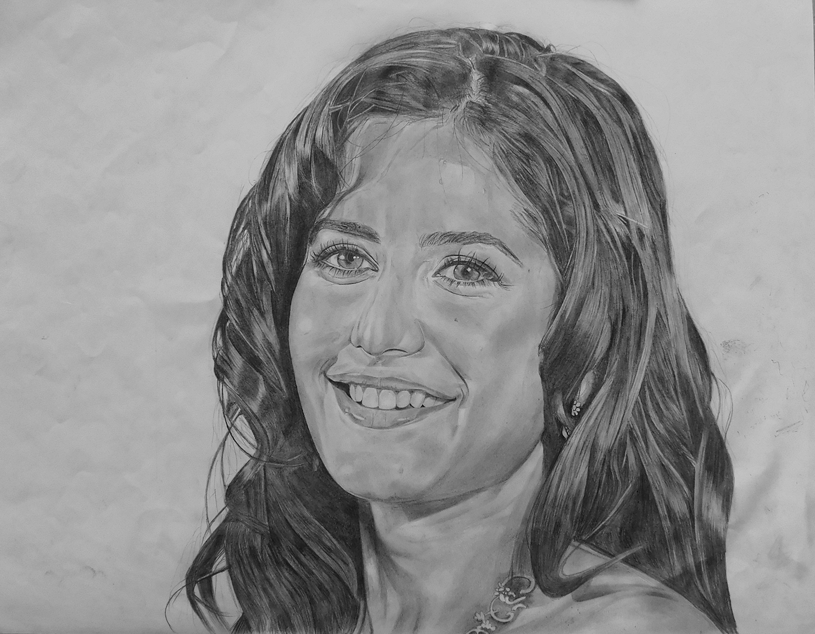 Katrina Sketch Pencil Sketch